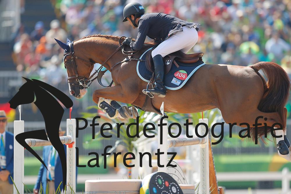 Quintana, Ramiro (ARG) Appy Cara<br /> Rio de Janeiro - Olympische Spiele 2016<br /> © www.sportfotos-lafrentz.de