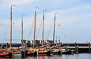 Nederland, Urk, 25-8-2011Zicht op de oude haven van dit voormalig eiland. Passantenhaven, plezierboten, recreatiehaven,watersport,jachthaven.Foto: Flip Franssen/Hollandse Hoogte