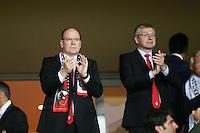 Dmitri RYBOLOVLEV / Prince ALBERT  de Monaco - 22.04.2015 - Monaco / Juventus Turin - 1/4Finale retour Champions League<br />Photo : Serge Haouzi / Icon Sport