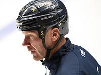 2018-08-04 | Jönköping, Sweden: HV71 Johan Lindbom during the HV71 ice premiere at Kinnarps Arena ( Photo by: Marcus Vilson | Swe Press Photo )<br /> <br /> Keywords: Ice Premiere, Season 2018/19, Sweden, SHL, Jönköping, Kinnarps Arena, Ice Hockey, HV71, , Johan Lindbom