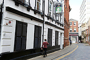 27 August 2014 Images of Kingston Upon Hull, East Yorkshire. <br /> The Land of Green Ginger in Hull's old town showing the George Pub, one of England's oldest.<br /> Picture: Sean Spencer/Hull News & Pictures Ltd<br /> 01482 772651/07976 433960<br /> www.hullnews.co.uk   sean@hullnews.co.uk