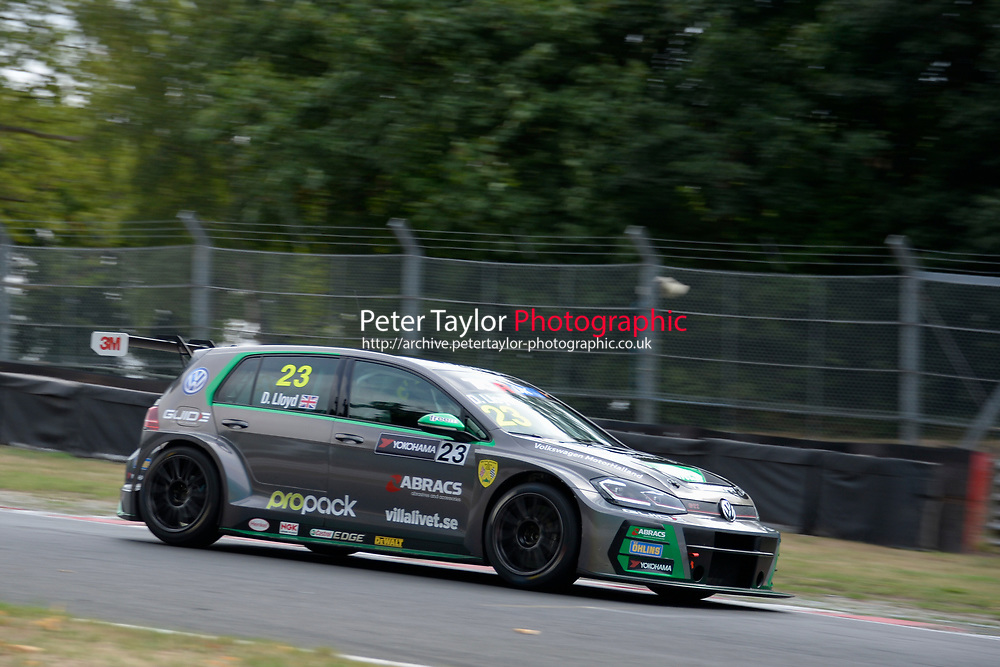 #23 Dan LLOYD (GBR) WestCoast Racing Volkswagen Golf GTI TCR  during TCR UK Championship  as part of the BRSCC TCR UK Race Day Oulton Park  at Oulton Park, Little Budworth, Cheshire, United Kingdom. August 04 2018. World Copyright Peter Taylor/PSP. Copy of publication required for printed pictures.  Every used picture is fee-liable. http://archive.petertaylor-photographic.co.uk