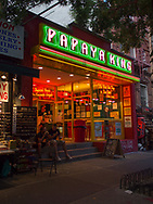 Papaya King at St. Marks Place in the East Village
