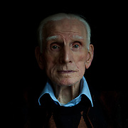 October 26, 2013 - Dublin, Ireland: Portrait of Phil Farrington, a 92 year old Irish veteran of the Second World War. Mr. Farrington is one of the few remaining Irish men who joined the British army during the war. As a neutral country, Ireland considered him a deserter and on his return home he was put in prison for several years, charged with treason to the nation. (Paulo Nunes dos Santos)