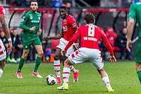 ALKMAAR - 01-04-2017, AZ - FC Groningen, AFAS Stadion, 0-0, AZ speler Derrick Luckassen.