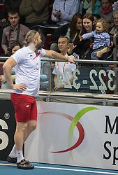 07.03.2014, Ergo Arena, Sopot, POL, IAAF, Leichtathletik Indoor WM, Sopot 2014, Tag 1, im Bild TOMASZ MAJEWSKI ZONA SYN // TOMASZ MAJEWSKI ZONA SYN during day one of IAAF World Indoor Championships Sopot 2014 at the Ergo Arena in Sopot, Poland on 2014/03/07. EXPA Pictures © 2014, PhotoCredit: EXPA/ Newspix/ Marek Biczyk<br /> <br /> *****ATTENTION - for AUT, SLO, CRO, SRB, BIH, MAZ, TUR, SUI, SWE only*****