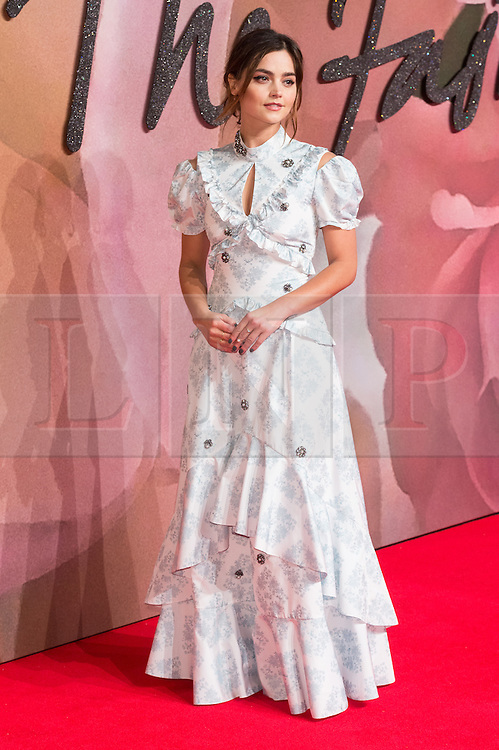 © Licensed to London News Pictures. 05/12/2016. JENNA COLEMAN arrives for The Fashion Awards 2016 celebrating the best of British and international fashion. London, UK. Photo credit: Ray Tang/LNP
