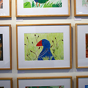 Art work on display at The New Dowse Art Museum,  Laings Road, Lower Hutt, Wellington, New Zealand. 24th January 2011. Photo Tim Clayton..