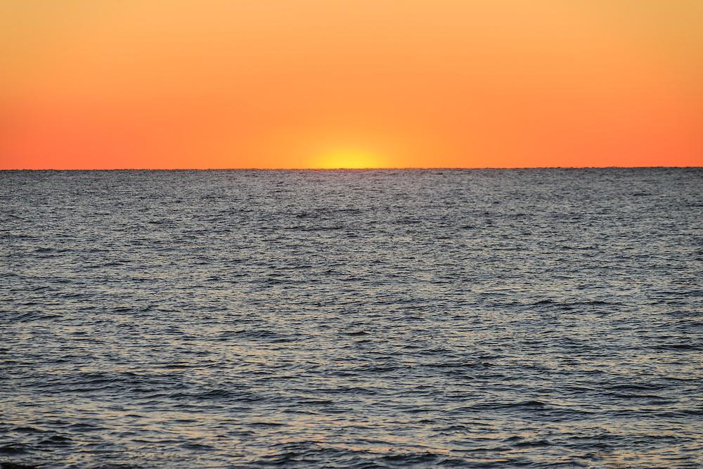 Sunset, Long Island Sound, Greenport, Long Island, New York