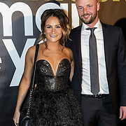 NLD/Amsterdam/20141215- Glamour Woman of the Year 2014, Saar Koningsberger en partner Martijn