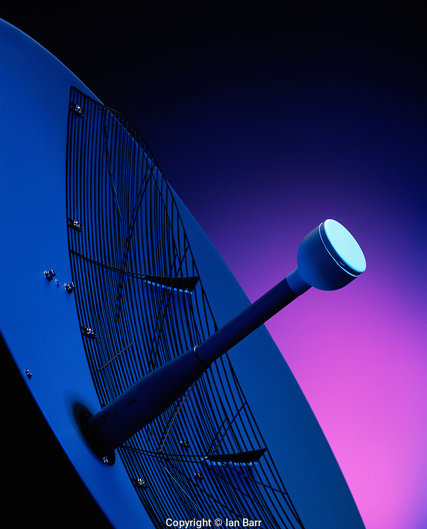 Still Life of avionics radar antenna