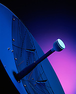 Still Life of avionics radar antenna