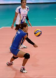 24-09-2014 ITA: World Championship Volleyball Thailand - Nederland, Verona<br /> Wanna Buakaew