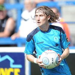 TELFORD COPYRIGHT MIKE SHERIDAN 4/8/2018 - James McQuilkin during the National League North fixture between AFC Telford United and Southport FC.