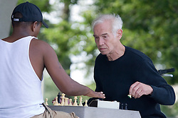 Men playing chess People People People