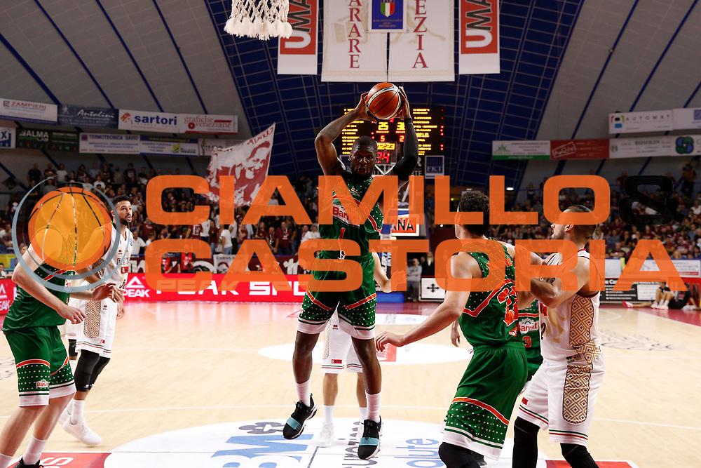 Adonis Thomas<br /> Umana Reyer Venezia vs Banvit<br /> FIBA Basketball Champions League 2017/2018<br /> Venezia,  10/10/2017<br /> Foto Ciamillo-Castoria/A. Gilardi