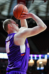 NORMAL, IL - January 05: Evan Kuhlman during a college basketball game between the ISU Redbirds and the University of Evansville Purple Aces on January 05 2019 at Redbird Arena in Normal, IL. (Photo by Alan Look)