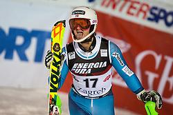 "Sebastian Foss-Solevaag (NOR) during FIS Alpine Ski World Cup 2016/17 Men's Slalom race named ""Snow Queen Trophy 2017"", on January 5, 2017 in Course Crveni Spust at Sljeme hill, Zagreb, Croatia. Photo by Ziga Zupan / Sportida"