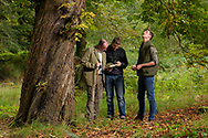 Visitors in the Woodland Garden, Lael Gardens, Ullapool, Ross Shire, Forestry Commission Scotland
