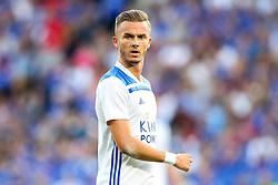 James Maddison of Leicester City - Mandatory by-line: Robbie Stephenson/JMP - 01/08/2018 - FOOTBALL - King Power Stadium - Leicester, England - Leicester City v Valencia - Pre-season friendly