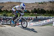 Women Elite #7 (REYNOLDS Lauren) AUS at the 2018 UCI BMX World Championships in Baku, Azerbaijan.