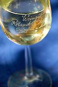 Glas fränkischer Wein