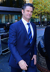 OCT 16 2014 Andrew Fitch-Holland arrives at Southwark Crown Court