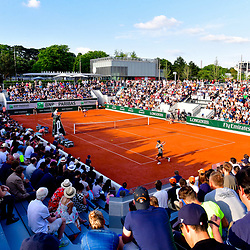 The new Court 18 during Day 3 of the French Open 2018 on May 29, 2018 in Paris, France. (Photo by Dave Winter/Icon Sport)