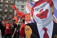 Protests Anti-Trump London