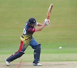 Fabian Cowdrey of Kent - Photo mandatory by-line: Dougie Allward/JMP - Mobile: 07966 386802 - 12/07/2015 - SPORT - Cricket - Cheltenham - Cheltenham College - Natwest Blast T20