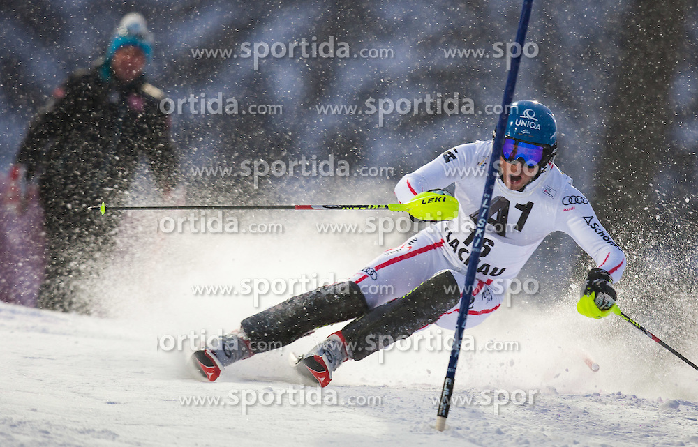 21.12.2011, Hermann Maier Weltcup Strecke, Flachau, AUT, FIS Weltcup Ski Alpin, Herren, Slalom 1. Durchgang, im Bild Benjamin Raich (AUT) in Aktion // Benjamin Raich of Austria in action during Slalom race 1st run of FIS Ski Alpine World Cup at 'Hermann Maier World Cup' course in Flachau, Austria on 2011/12/21. EXPA Pictures © 2011, PhotoCredit: EXPA/ Johann Groder