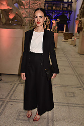 """Frida Escobedo at the opening of """"Frida Kahlo: Making Her Self Up"""" Exhibition at the V&A Museum, London England. 13 June 2018."""