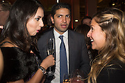 ANITA RADIA; ROOPAK RADIA; MIRANDA LEWIS, Action Against Cancer 'A Voyage of Discovery' fundraising dinner at the Science Museum on Wednesday 14 October 2015.