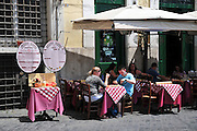Rome, Italy outdoor cafe