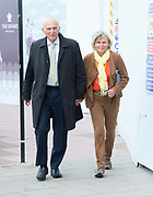 Liberal Democrats Autumn Conference in Brighton, East Sussex 18th September 2018 <br /> Final day <br /> <br /> Vince Cable MP <br /> Leader fo the Liberal Democrats <br /> Arriving in the conference centre with his wife Rachel for his Leaders' speech <br /> <br /> <br /> <br /> <br /> Photograph by Elliott Franks