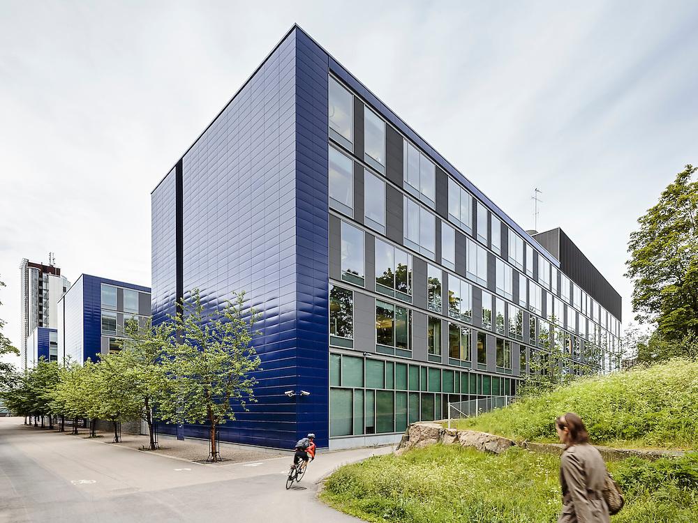 Ilmarinen office building in Helsinki, Finland designed by Helin & Co architects