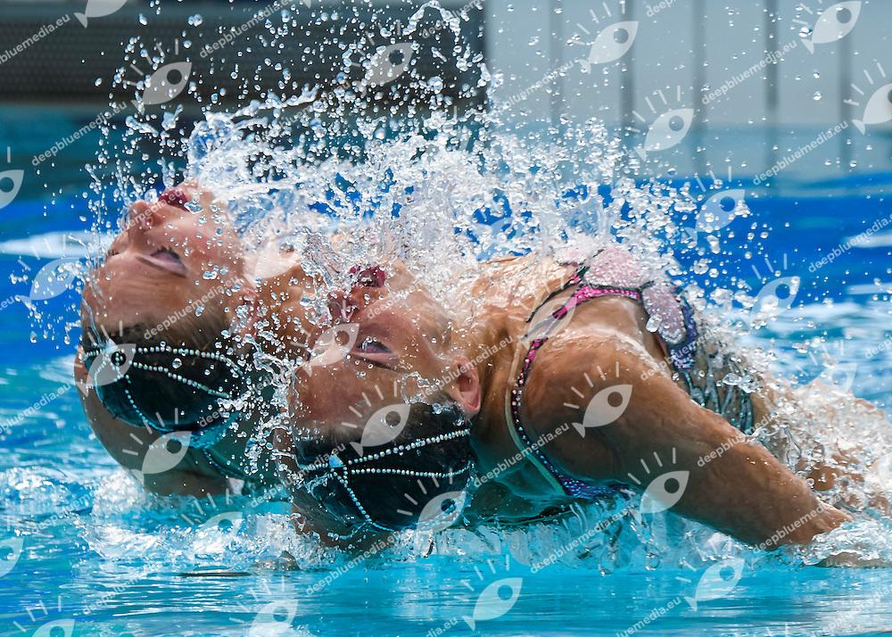 RUS - Russian Federation  <br /> ISHCHENKO Natalia ROMASHINA Svetlana<br /> Duets Free<br /> Rio de Janeiro 16-08-2016 Maria Lenk Aquatics Center  <br /> Synchronised Swimming <br /> Nuoto Sincronizzato <br /> Foto Andrea Staccioli / Deepbluemedia /Insidefoto