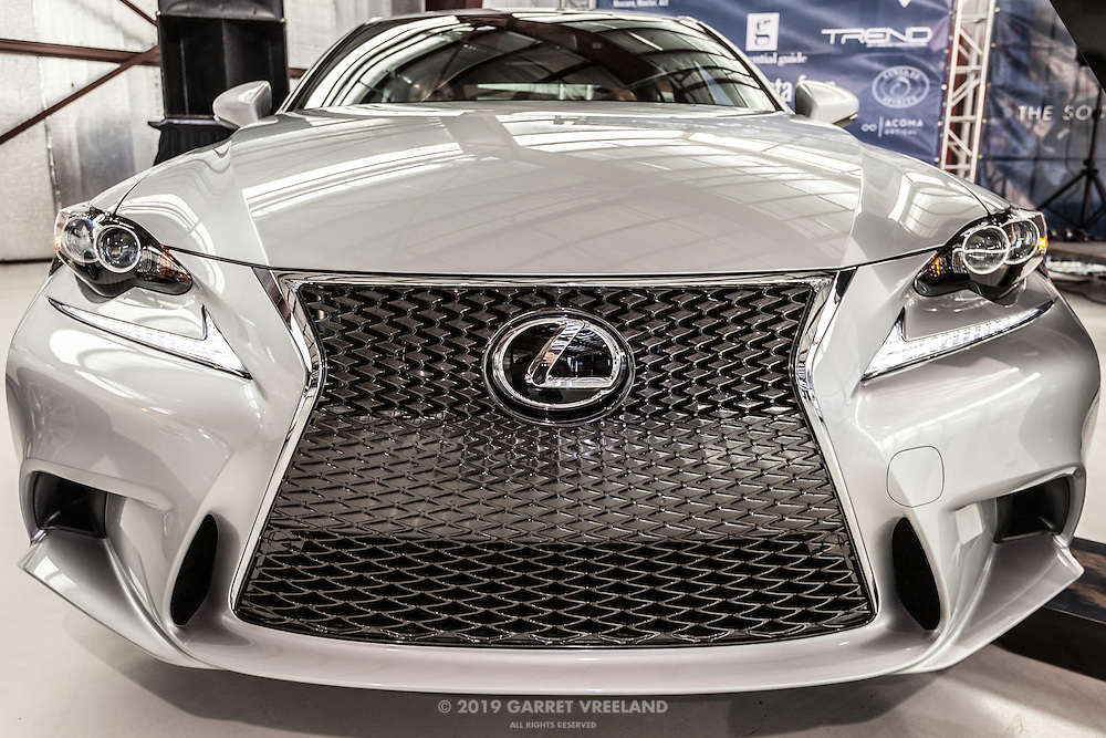 Brand new Lexus grill, Planes and Cars at the Santa Fe Airport, 2013 Santa Fe Concorso.