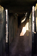 I managed to catch these fleeting opportunity - the sunligh pulling back from inside the chamber at Newgrange. At 8:56am on December 21st, when the solstice sunshine pierces the inner chamber of Newgrange, the entire inner chamber is illuminated.....