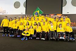 Team Brazil BRA at 2015 IPC Swimming World Championships -