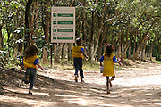 Divinopolis_MG, Brasil...Criancas no Parque dos Gafanhotos...Children in the Gafanhotos park...Foto: LEO DRUMOND / NITRO