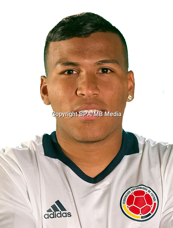 Conmebol - World Cup Fifa Russia 2018 Qualifier / <br /> Colombia National Team - Preview Set - <br /> Roger Martinez
