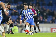 Brighton and Hove Albion midfielder Beram Kayal (7) during the The FA Cup 3rd round match between Brighton and Hove Albion and Crystal Palace at the American Express Community Stadium, Brighton and Hove, England on 8 January 2018. Photo by Phil Duncan.