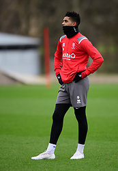 Lincoln City's Tyreece John-Jules during a training session at the BMW Soper of Lincoln Elite Performance Centre, Scampton, Lincolnshire.<br /> <br /> Picture: Chris Vaughan Photography for Lincoln City FC<br /> Date: February 4, 2020