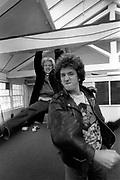 Paul Cooke and Steve Jones - ex Sex Pistols - 1981