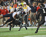 Mississippi tight end Evan Engram (17) vs. Vanderbilt in Nashville, Tenn. on Thursday, August 29, 2013. Ole Miss won 39-35.