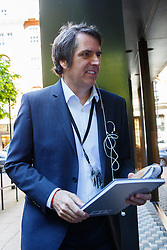 © Licensed to London News Pictures. 13/05/2015. LONDON, UK. Steve Rotheram MP attending Labour's National Executive Committee meeting to finalise leadership election arrangements at The Labour Party London Office on Wednesday, 13 May 2015. Photo credit : Tolga Akmen/LNP