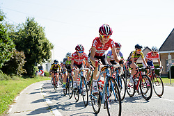 Claudia Lichtenberg (Lotto Soudal) at the 108 km Stage 2 of the Lotto Belgium Tour 2016 on 8th September 2016 in Lierde, Belgium. (Photo by Sean Robinson/Velofocus).