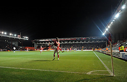 Bristol City's Joe Bryan celebrates with Bristol City's Matt Smith  - Photo mandatory by-line: Joe Meredith/JMP - Mobile: 07966 386802 - 10/02/2015 - SPORT - Football - Bristol - Ashton Gate - Bristol City v Port Vale - Sky Bet League One