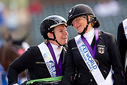 dr. Angelika Trabert, Elke Philipp, GER, <br /> World Equestrian Games - Tryon 2018<br /> © Hippo Foto - Sharon Vandeput<br /> 21/09/2018